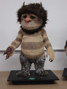 Carol Display from Where The Wild Things Are.
