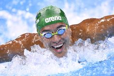 509048e12d0 South Africa s Chad Guy Bertrand Le Clos competes in a Men s 200m Butterfly  heat during the