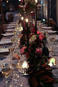 50 Simple And Elegant Halloween Wedding Decoration Ideas - Wedding Elegant Wedding, Perfect Wedding, Fall Wedding, Dream Wedding, Elegant Chic, Romantic Weddings, Gothic Wedding Ideas, Victorian Wedding Themes, Wedding Reception