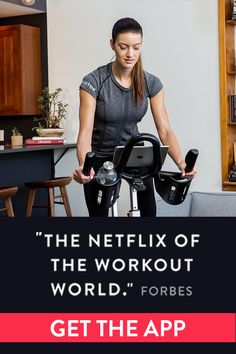 Live Stream Indoor Fitness Classes! Enjoy classes anytime and anywhere on any bike.