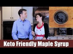 Keto Friendly Maple Syrup - I would add a little extra sweetness from my sweetener of choice