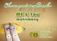 The matrimonial websites is the perfect platform that is catering to the tech savvy youth of today's generation who are searching for perfect life partners.