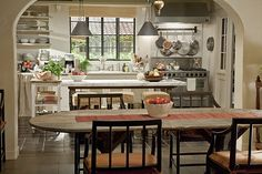 "KITCHEN ~ The real house where the movie ~  ""It's Complicated"" was filmed"
