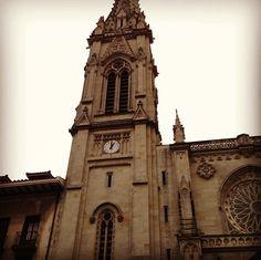 Catedral de Santiago in Bilbao, Spain.