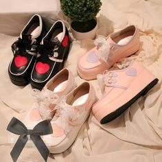 Japanese sweet lolita lace princess students platform shoes
