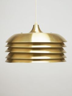 Friday Finds: Gold Ceiling Lamp