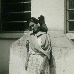 Frida adorava animais!