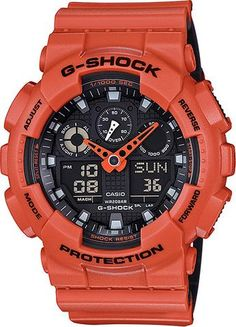 Casio Mens G-Shock Military Fashion Watch (Model No. GA-100L-4A) #gshock