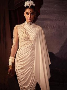 Tarun Tahiliani's India by the Nile Ready to Wear Collection 2019 - The Big Fat Indian Wedding Big Fat Indian Wedding, Indian Wedding Outfits, Indian Outfits, Indian Attire, Wedding Dresses, Runway Fashion, Girl Fashion, Fashion Outfits, Diwali Fashion