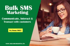 Bulk SMS Marketing allow businesses to connect a large customer base within seconds at affordable other marketing tool.