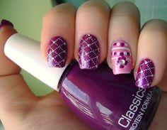 Pink-purple konadicure