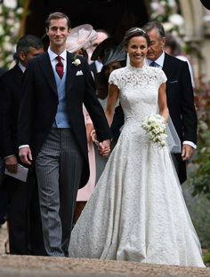 Kate Middleton'un Kardeşi Pippa Middleton'un Gelinliği