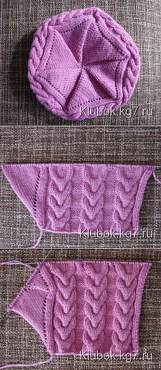 Cutely Designed Crochet Designs You Should Try Now - Diy Crafty Cable Knitting, Baby Hats Knitting, Baby Knitting Patterns, Knitting Socks, Knitted Hats, Crochet Patterns, Crochet Designs, Knitting Designs, Knitting Projects