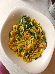 Pasta Scampi e Spinaci alla  Vapiano 2