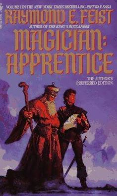 Magician: Apprentice (The Riftwar Saga, #1) by Raymond Feist  This book will take you on a journey which will span many wonderfull books.  Feist is another of the few authors who has brought me to tears with his story telling and character development.  Feist is a master and with each book adds new memorable characters and layers of magic and political intrigue that keep you thirsting for more.  Feist is certainly in my top 10 of fantasy authors.