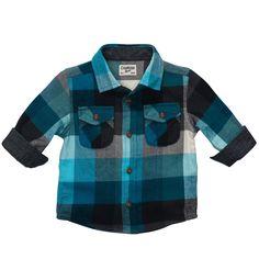 920974198 Plaid Flannel Shirt Little Boy Outfits
