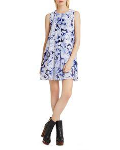 BCBGeneration Printed Trapeze Mini Dress $60.18