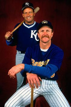 George Brett (Royals) and Robin Yount (Brewers)