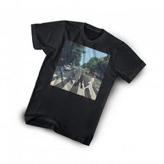 #SearsWishlist  Wear one of the most iconic moments of rock and roll proudly with the Beatles 'Abbey Road' tee. Made from cool comfortable cotton to satisfy even the biggest fan. Cotton Crew-neck style Short sleeves Print featuring the Beatles Abbey Road album cover art Machine wash