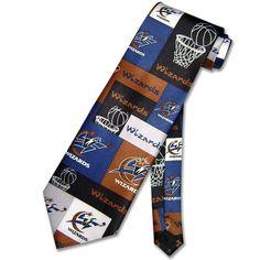 WASHINGTON WIZARDS NeckTie NBA BasketBall Men's Neck Tie NEW
