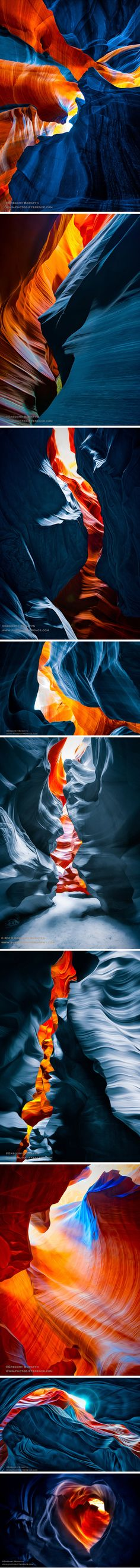these  artistic cave-photos by Gregory Boratyns  are special for me THE best ,so far...and to think I was getting bored with this subject which has been photographed so much ...lol thank-you Gregory