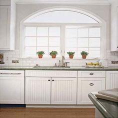 beadboard kitchen cabinet design