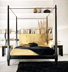 four poster ... need height for the vaulted ceiling