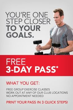 24 Hour Fitness 3 Day Pass
