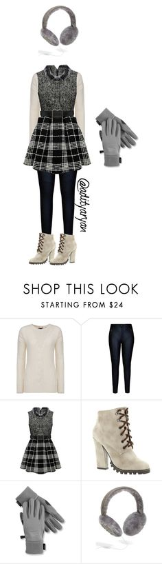 """""""Let It Snow"""" by adityaryan on Polyvore featuring Woolrich, City Chic, Michael Antonio, The North Face, UGG Australia, women's clothing, women's fashion, women, female and woman"""