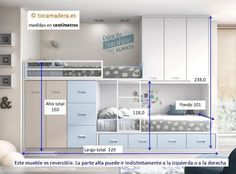 Train bed with attics - juan andrade - Kinderzimmer - Babyzimmer Comfy Bedroom, Small Room Bedroom, Baby Bedroom, Girls Bedroom, Kids Bedroom Furniture, Furniture Design, Bedroom Decor, Diy Furniture, Home Room Design