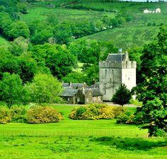 Kames Castle and Estate by James Bullis-King