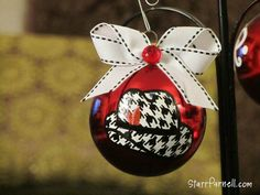 University of Alabama Ornament Houndstooth Hat by StarrParnell, $17.00