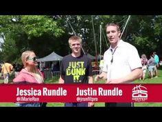 Spokane Hoopfest Jump Squat Challenge With RundleFit