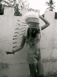 Tribal fashion? More like TRASH! Repinned from Jen Vogt: tribal fashion | Tumblr