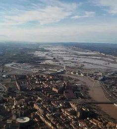 Marzo 2015 Aragon, Airplane View, March