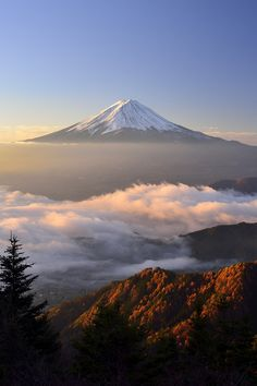 Mt. Fuji / IS THERE ANYTHING, ANY PLACE MORE GORGEOUS?