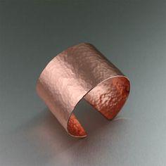 Hammered #Copper Handmade #Cuff