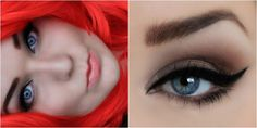 Simple makeup, perfect for blue eyes! http://www.makeupbee.com/look_simple_50126