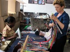 Carmina Campus Shows Fendi's Green Side With African-Made Eco-Fashion