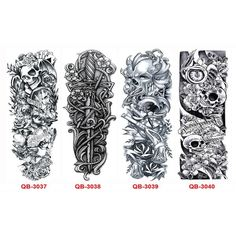 template for sleeve (tattoo designing) useful!!! | Body ...