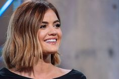 Lucy Hale attends the AOL BUILD Speaker Series 'Pretty Little Liars' at AOL Studios In New York on August 6 2015 in New York City