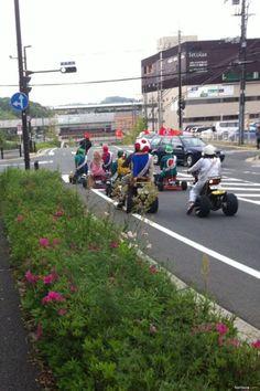 Real Life Mart Kart - The CaffiNation