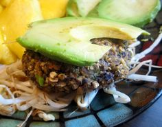 Black Bean and Spinach Burgers