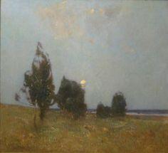 "Emil Carlsen - ""Early Moonrise"" c.1910"