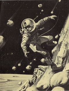 I love retro sci-fi images. I think they captured the spirit of sci-fi in a way that is lost today. Though, they can get pretty bizarre. Science Fiction Art, Retro Futurism, Retro Futuristic, Fantasy Art, Retro Art, Vintage Space, Art, Pop Art, Space Art