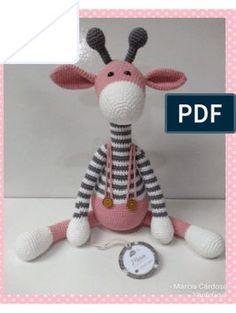 Giraffe Crochet, Crochet Baby Toys, Crochet Bear, Crochet Patterns Amigurumi, Crochet Animals, Crochet Dolls, Crochet Diy, Easy Amigurumi Pattern, Amigurumi Doll