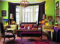 Joker inspired interior design makes an eclectic and beautiful space. Description from pinterest.com. I searched for this on bing.com/images