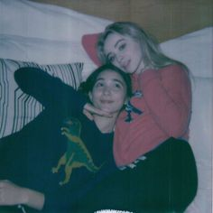 Rowan Blanchard and Sabrina Carpenter