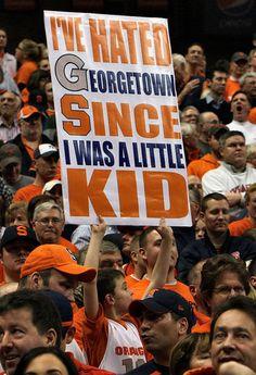 I think I've hated Georgetown longer than that. GO SU!    syracuse.com/orangebasketball