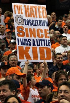 I think I've hated Georgetown longer than that. GO SU!    syracuse.com/orangebasketball